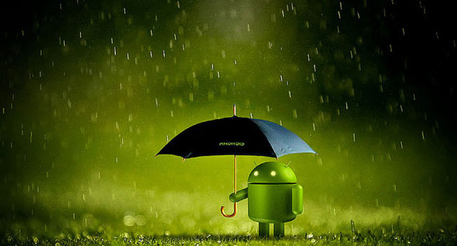 android-umbrella